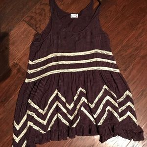 EUC Intimately Free People Trapeze Tank Sz M